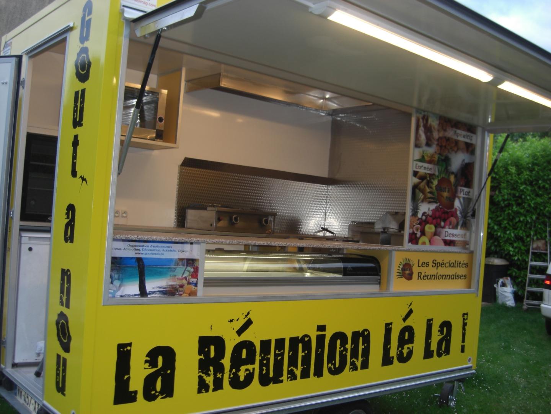 Vente Ambulante de Spécialités Réunionnaises